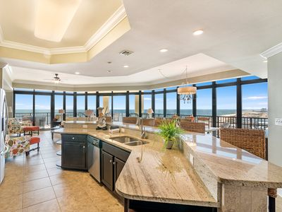 Photo for Updated 4BR Beachfront Corner Unit! Lazy River/Slide! Incredible Space & View!