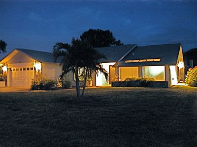 Photo for AMAZING LOCATION ~ Golden Beach House ~ Steps from Beach ~ Heated Pool