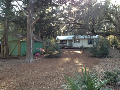 Photo for CROSS CITY SUWANNEE RIVER BLOCKS AWAY,COZY HOUSE, 20 MIN TO WEST COAST.  IN TOWN