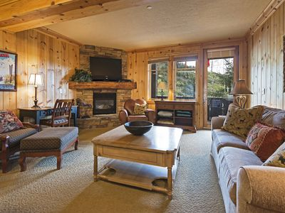 Photo for Base of Deer Valley Ski Resort - Cozy Red Stag Lodge - Private Hot-tub!