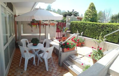 Photo for Apartment Corrado (Holiday house), 100 meters from the beach
