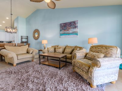 Photo for Beautiful Waterfront Condo - Pools, Clubhouse, Private Beach!