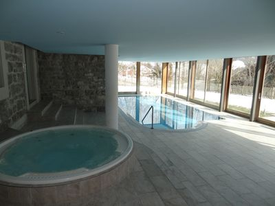 Photo for Luxury 3 Bed apartment,  panoramic mountain views,  5* Spa Facilities -