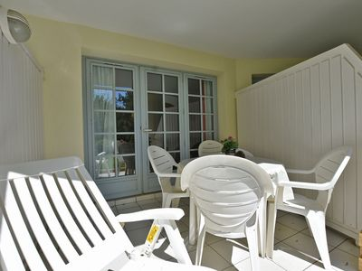 Photo for Lovely apartment with view of the Moliets golf course and 700m from the ocean.