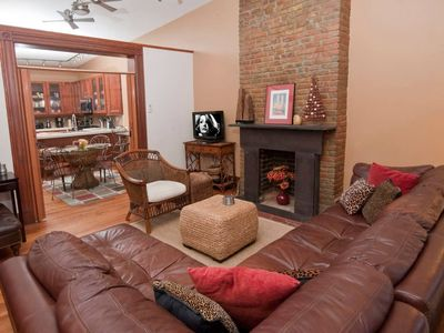 Photo for Fashionable top floor apartment w/ roof deck. ONLY for guests: No shared space.