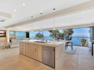 Photo for Absolutely perfect remodeled house with a panoramic over the ocean view.