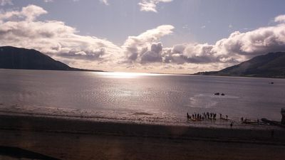 Photo for On The Beach. Victorian town house with best views of Carlingford Bay
