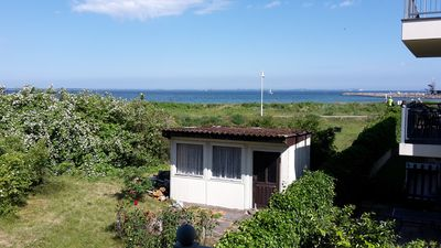 Photo for Large furnished balcony with panoramic views and Baltic direct beach access