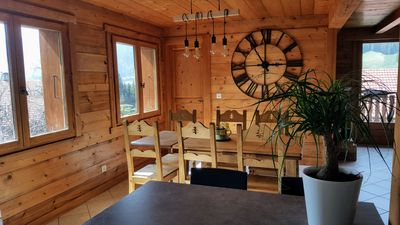"""Photo for Cottage 3 * in Chalet """"Les Picaillons"""" 4-6 people quiet"""
