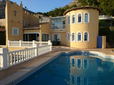 Photo for Luxury Villa With Private Pool And Glorious Sea Views