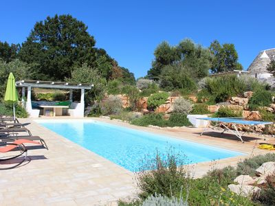 Photo for Trulli, child friendly, special offers, modern, WIFI, private pool