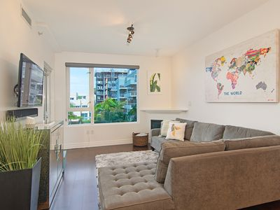 Photo for Little Italy Urban Oasis with Secured Parking, Private Patio in Luxury Building