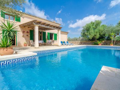 Photo for S'ESCOLA - Villa with private pool and fantastic porches to enjoy nice evenings alfresco.
