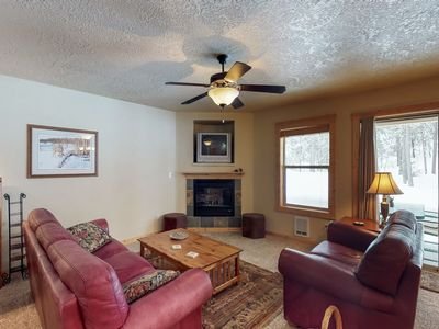 Photo for Peaceful condo in the heart of downtown w/ gorgeous wooded surroundings!