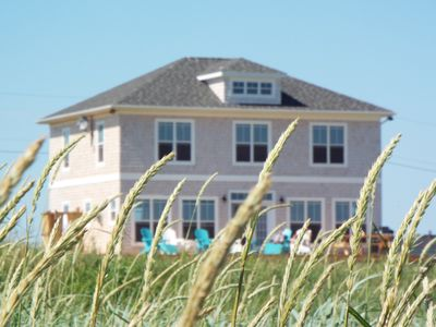 Cove House . View from Augustine Cove beach