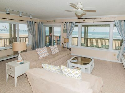 Photo for Sea Sunrise | Oceanfront | Elevator Access | Diamond Shoals | Nags Head | Sleeps 6
