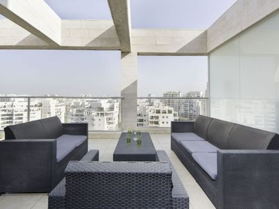 Photo for Luxurious Ramat Aviv 3 bd with AMAZING balcony!