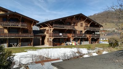 Photo for OVER WATER APPT IN CHALET ANY COMFORT BETWEEN LAKES AND MOUNTAINS