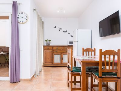 Photo for Central Apartment Close to the Beach with Terrace & Wi-Fi; Street Parking Available