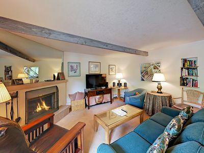 Photo for Charming Ski-In Snowmass Village 2BR w/ Cozy Fireplace & Private Deck w/ View