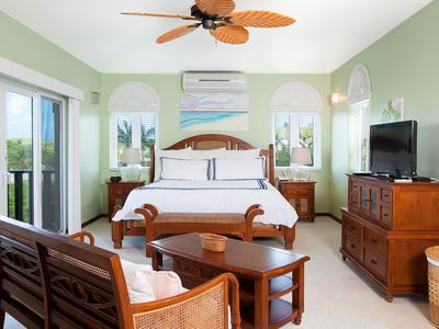 "Photo for Fountain Anguilla by ""Refined Retreats""~HUGE Studio w/ KING & Balcony~Amazing View!"