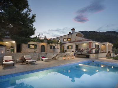 Photo for ISOLATED Five Star Luxury Villa With Private Pool, Sea View And Olive Garden