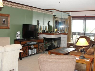Photo for Snowcrest 2 Br, Hot Tub, Wifi, Sunset Mountain View