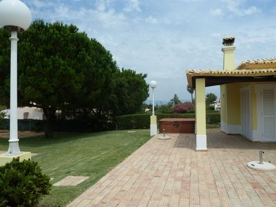 Photo for Attractive villa sleeping six guests with a beautiful garden and private pool