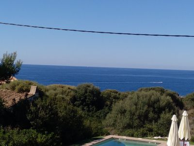 Photo for idyll. Dream house in the best location of Cala Figuera with sea views, heated. Pool, A / C