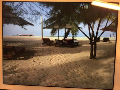 Photo for CRYSTALLINES MAISON with psicine in a private domain with private beach SALY