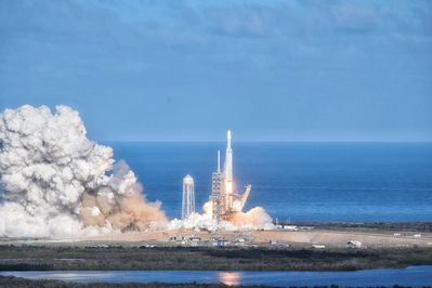 Spacex and NASA launches may be seen from our beach!