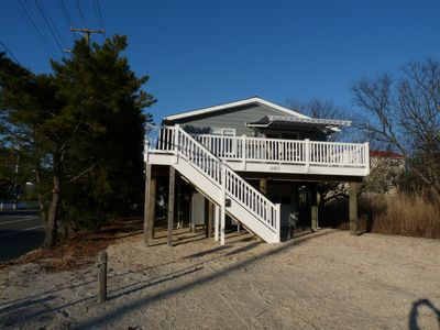Photo for Terrific Oceanblock Property, 6 Houses from Beach!