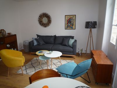 Photo for Apartment type F3 city center