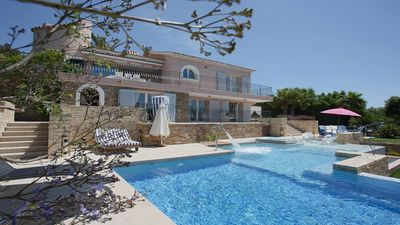 Photo for Steps away from the sandy beaches of Cavaliere, w/ Pool & Panoramic views
