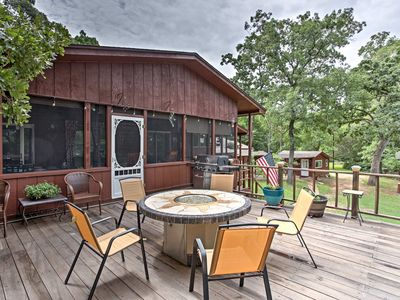 Photo for Home w/ Bungalow & Bunkhouse on Cedar Creek Lake!