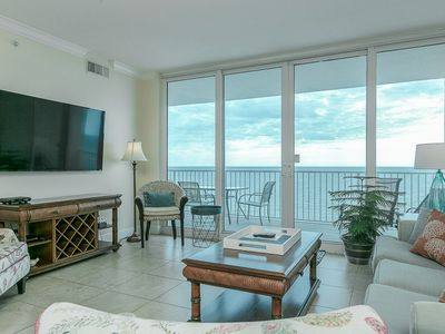 Photo for Amazing Condo with a Gorgeous View! Spacious Balcony, On-Site Pools, Fun for the Whole Family!