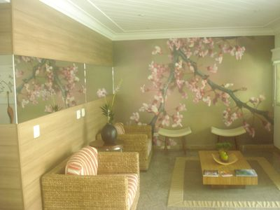 Photo for Guarujá near the sea for 6 people w / Air conditioning and swimming pool - Pets allowed