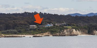 Location of the house on the headland