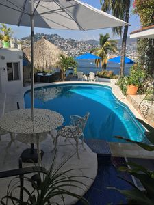 View of Pool, Palapa and Main Terrace