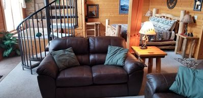 New Living room Furniture Love seat and Couch.