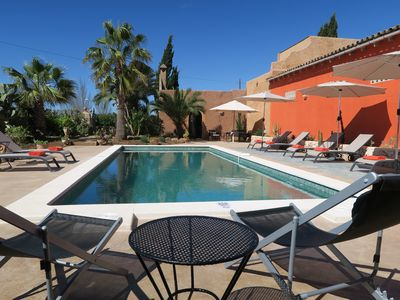 Photo for El Palomar with a beautiful patio, pool and free WiFi