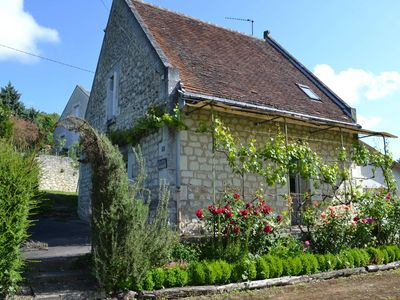 Photo for Charming cottage in the heart of the Loire Valley
