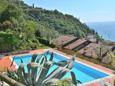 Photo for Cà le Camille With Pool - Apartment for 6 people in Torri del Benaco