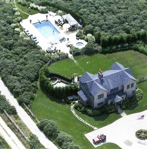 """Photo for Sun-filled Nantucket Home """"Nevermoor"""" with spectacular pool & Cabana"""