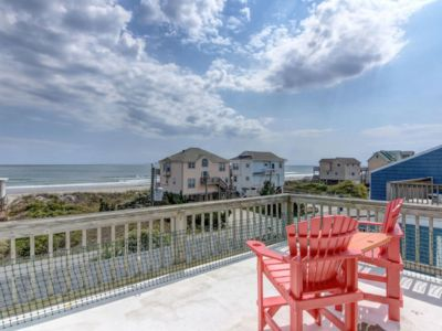 Photo for 3 bedroom / 2 1/2 bath pet friendly duplex with beautiful ocean and sound views