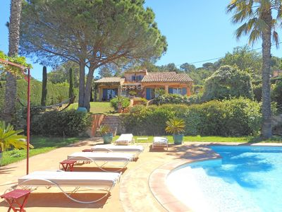 Photo for BEAUTIFUL PROVENCALE VILLA WITH SWIMMING POOL IN QUIET AREA