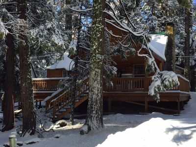 Photo for Cozy Shaver Lake Cabin west village  WIFI  completely remodeled