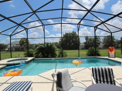 Photo for Luxury 8 Bedroom Villa, New Remodel,Heated Pool/Spa