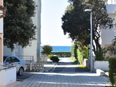 Photo for Charming apartment with private balcony ,20 m distant from the beach, free WI-FI