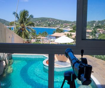 Photo for Wonderful Mansion in front of the Beach of Ferradura
